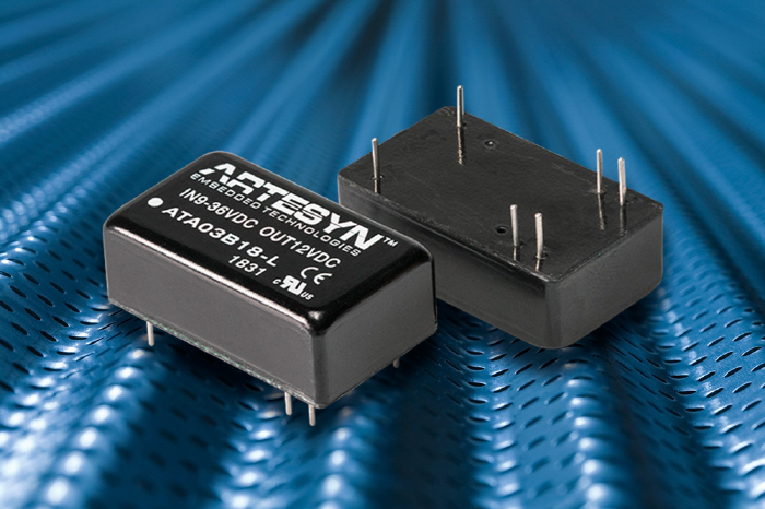 Artesyn Extends Industrial DC-DC Converter Range with 10 Watt Model in Compact DIP Package