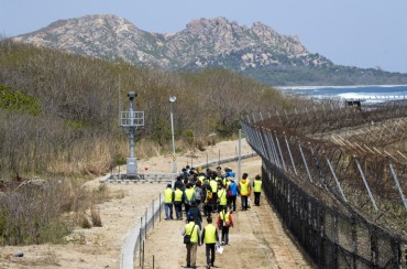 Access to Parts of DMZ Peace Trail Almost Impossible Due to its Popularity