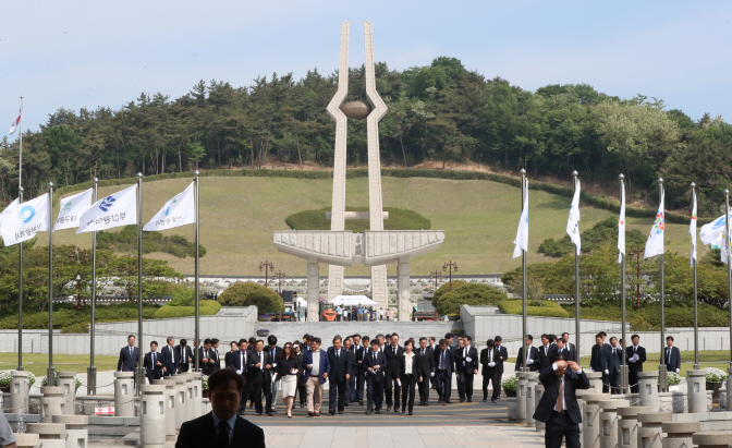 Foreign Tourists Visit Gwangju to Experience Mind and Spirit of May 18 Democratization Movement