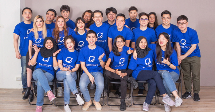 Swingvy, a Singapore-based HR startup, announces its Series A round of funding from Samsung Ventures and other investors. (image: Swingvy)