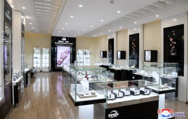 N. Korea's Daesung Department Store Accepts Global Trends and Technologies