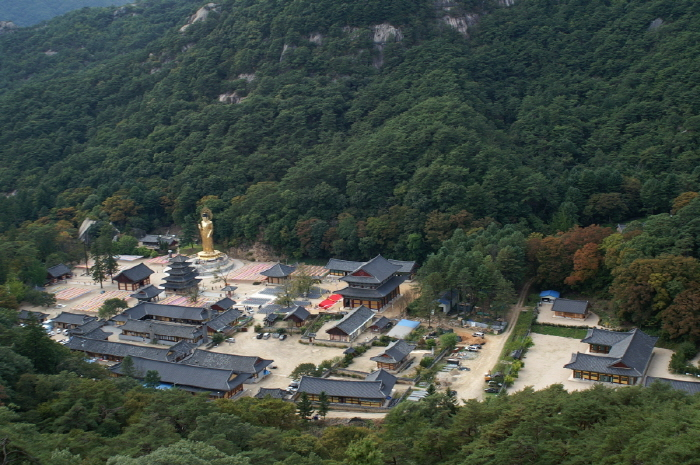Beopjusa Temple on Mount Songni National Park. (image: Boeun County Office)