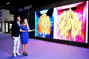 Samsung to Launch The Wall Luxury TV in Global Market Next Month