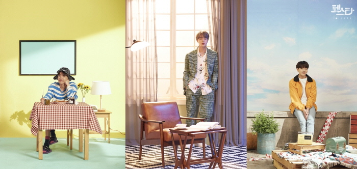 "BTS' photo collection named ""Family Portrait.""  (image: Big Hit Entertainment)"