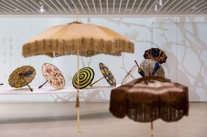 """The exhibition, """"Summer Bloom: A Story of French Umbrellas"""" (image: Platform-L Contemporary Art Center)"""