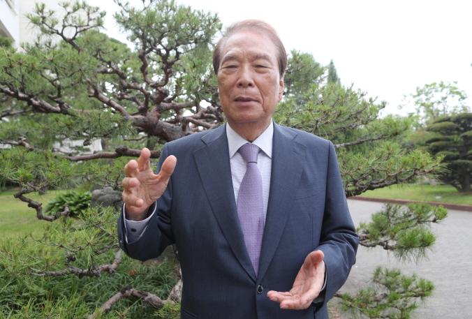 Hong Sung-dae, founder of Sangsan High School. (Yonhap)