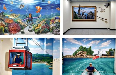 Samcheok's Janghohang Port Introduces 3D Trick Art Zone