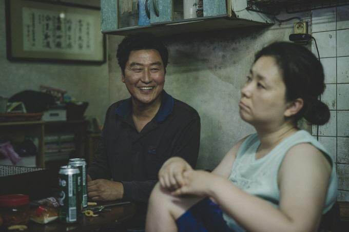 "A scene from Bong Joon-ho's Cannes-winning film ""Parasite."" (image: CJ Entertainment)"