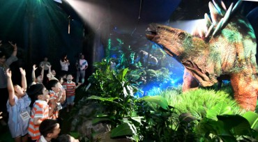 Lotte Hosts Asia's First Jurassic World Exhibition