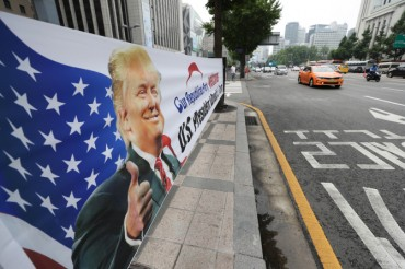 Activist Groups Hold Rallies to Welcome, Protest Trump's Seoul Visit