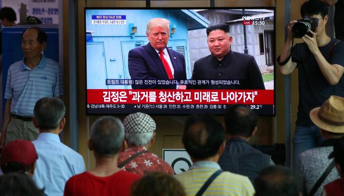 S. Koreans Voice Optimism About Peace on Korean Peninsula via Historic DMZ Meeting