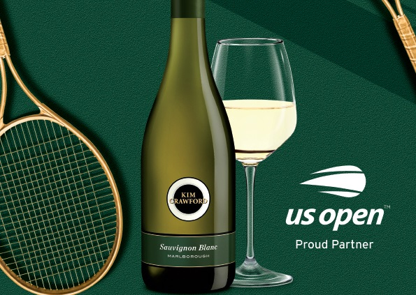Kim Crawford Wines Partners with US Open Tennis Championships