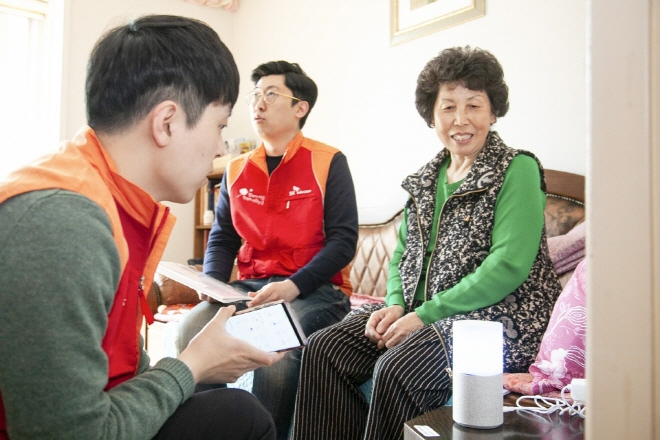 AI Speaker 'Emotional Conversation' Services Popular Among Solitary Senior Citizens