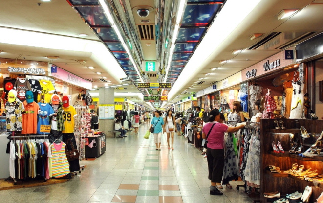 Bupyeong Underground Shopping Mall in Incheon. (image: Bupyeong District Office)