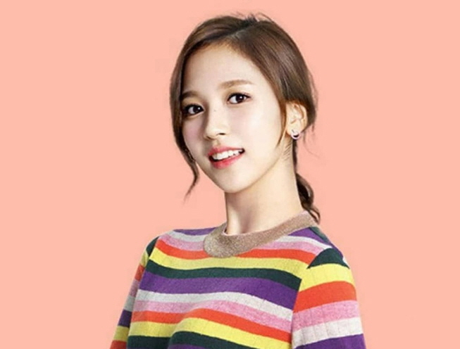 Mina, a member of TWICE. (image: JYP Entertainment)