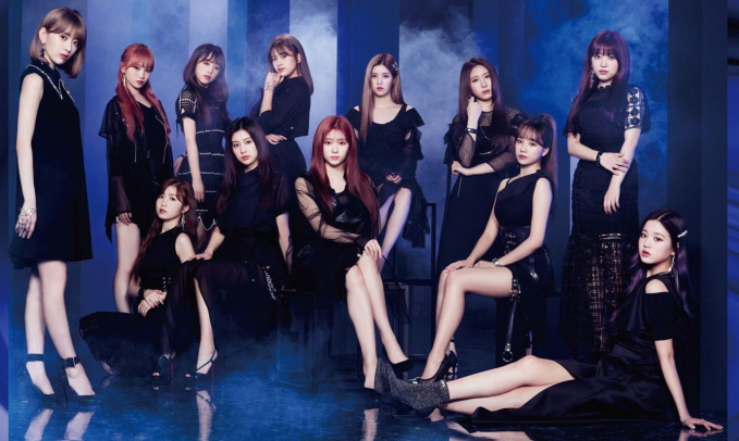 """Jacket of IZ*ONE's latest Japanese single """"Buenos Aires."""" (image: Off the Record Entertainment)"""
