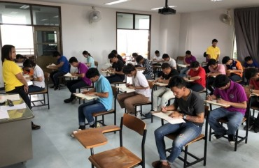 7,000 Thais Take Korean Language Exam for Employment in S. Korea