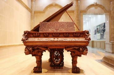 New Museum Showcases World's Only Piano Carved by Rodin