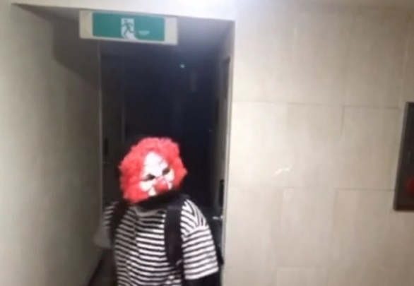Clown-masked Delivery Marketing Heavily Criticized for Implying Sexual Crime