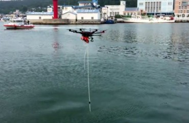 Versatile Drones Used to Collect Samples of Contaminated Sea Water