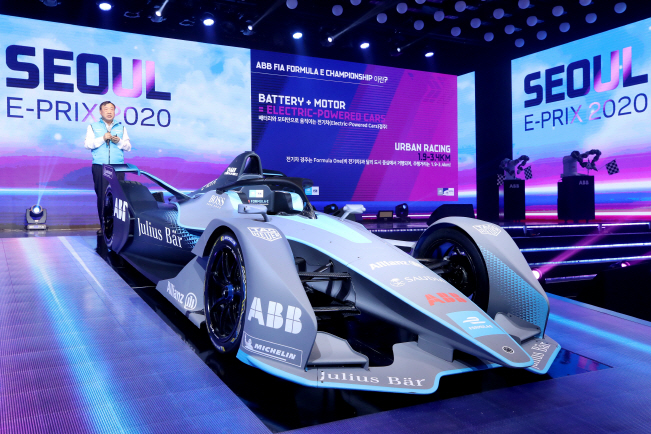 Electric-powered Auto Racing Series Formula E to Debut in Seoul Next Year