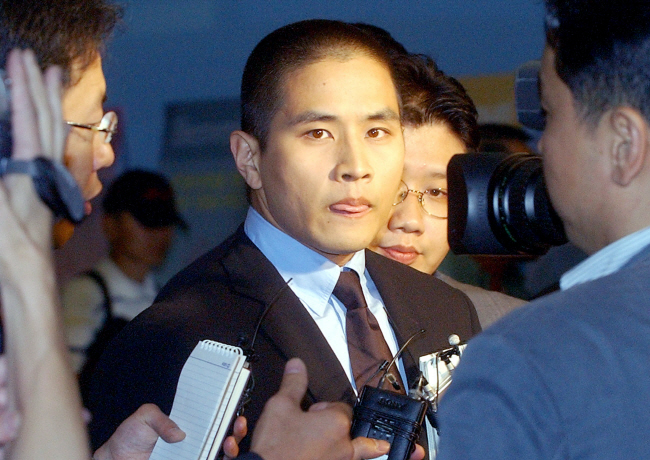Steve Yoo was allowed to enter South Korea in 2003 to attend the funeral of his father-in-law. (Yonhap)