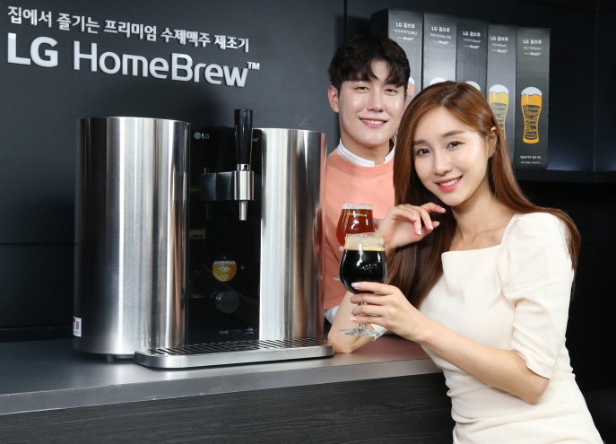 LG Electronics Launches Home Brewing Machine in S. Korea