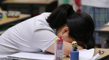 Nearly 34 pct of S. Korean Adolescents Have Thought About Suicide over Academic Pressure: Poll