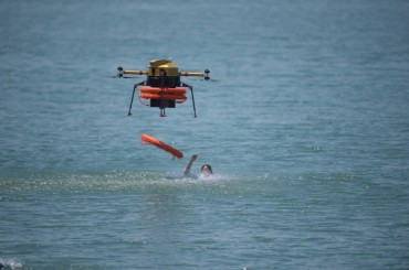 Smart Rescue Drones to Protect Survivors of Sea Accidents