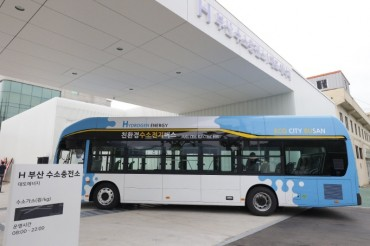Hyundai to Supply 5 Hydrogen Buses to Busan City
