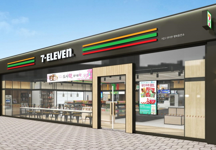 Rumors spreading among consumers that 7-Eleven is a Japanese brand have been hurting several franchise owners, leading the head office to take action. (image: Korea Seven Co.)