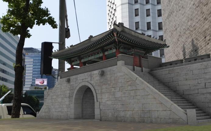 Joseon Dynasty Era Gate Virtually Restored with Digital Technology