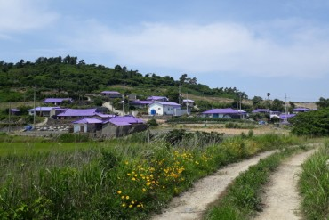 Sinan County to Create 'Purple Isles'