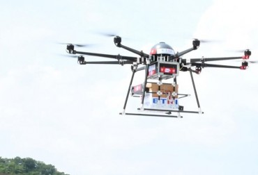 Drone Delivery System to Begin Test Operation in Remote Areas