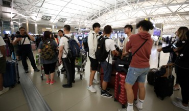 Flights Connecting S. Korea, Hong Kong Canceled due to Protest