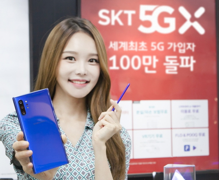 SK Telecom Attracts Over 1 mln 5G Users