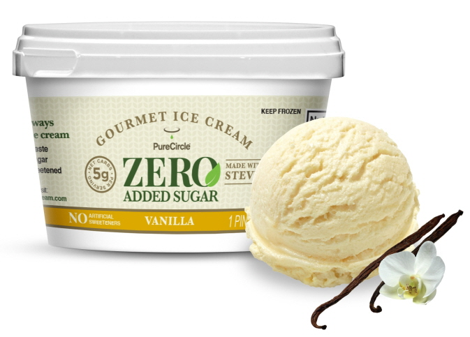 PureCircle Launches Branded Gourmet Ice Cream in Chicago. Sweetened with Stevia. Zero Added Sugar.
