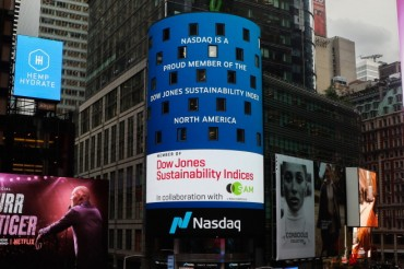 Nasdaq Named to Dow Jones Sustainability Index for the Fourth Consecutive Year