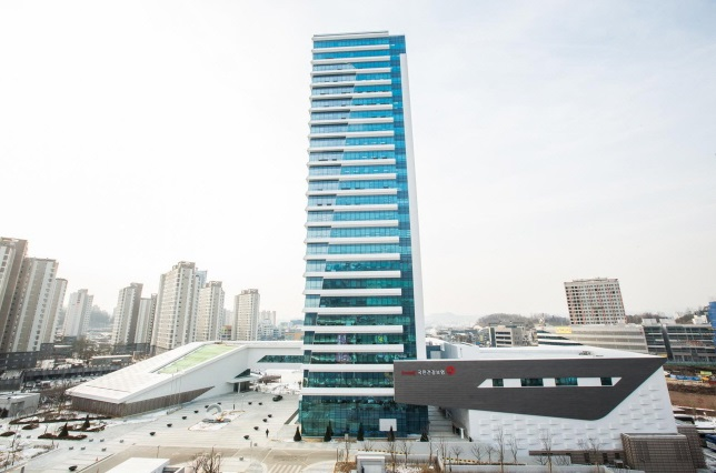 Headquarter of the National Health Insurance Service in Wonju, Gangwon Province. (image: Ministry of Land, Infrastructure and Transport)
