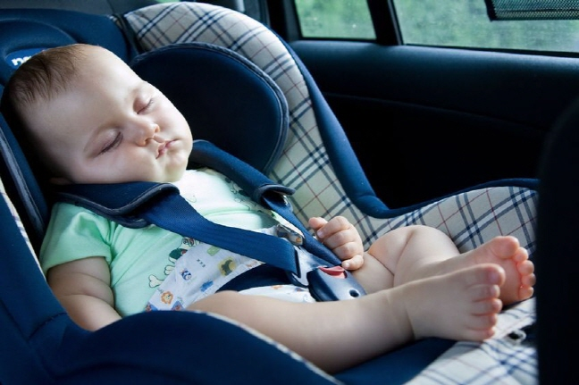 According to the Korea Transportation Safety Authority, children are 5.5 times more likely to be seriously injured if they don't sit in a car seat and wear a seatbelt. (image: Korea Bizwire)