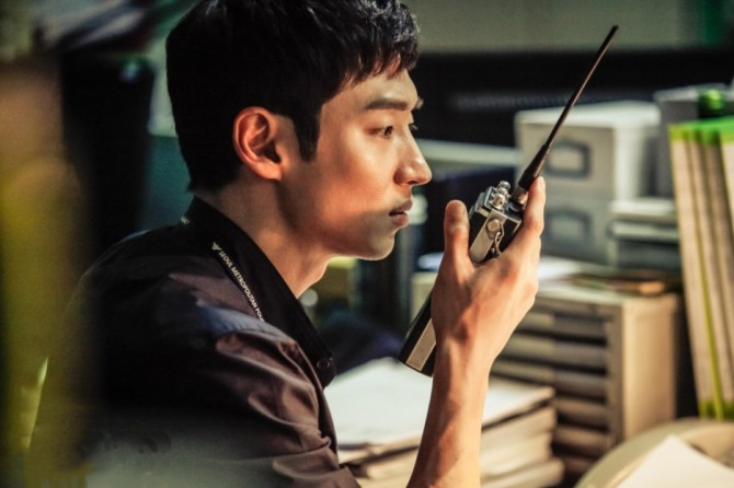 "A scene from the tvN series ""Signal.""(image: tvN)"