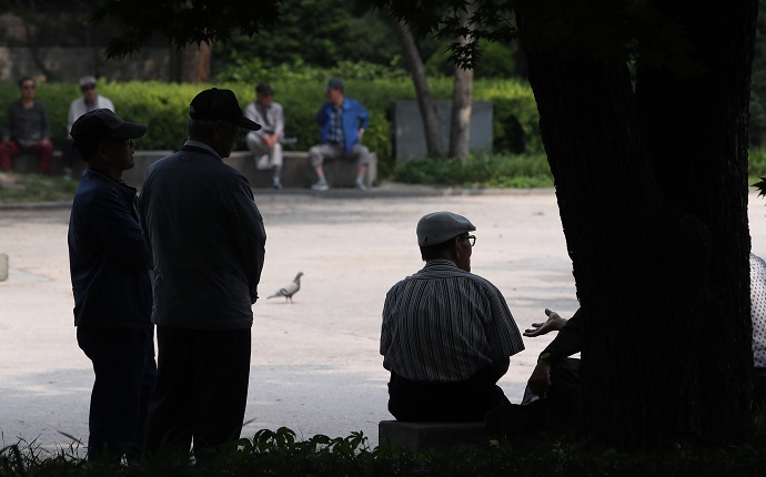 Lonely S. Korean Seniors Rank Last in OECD in Social Solidarity