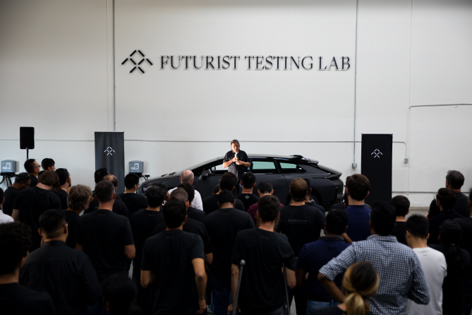 Faraday Future Announces New Plan for Product Delivery and Unveils Futurist Testing Lab