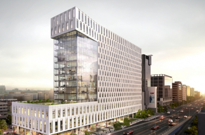 Andaz Gangnam, which is scheduled to open on Sept. 6. (image: Hyatt Hotels Corp.)