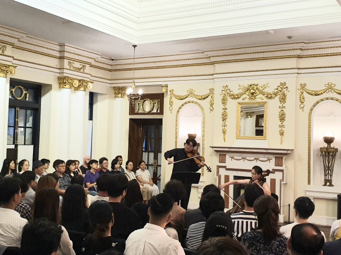 Classical Concert at Seokjojeon Reminiscent of Past Glories