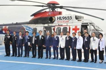 Medical Helicopters Established Part of Emergency Transport Service
