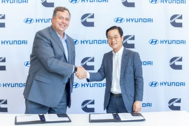 Hyundai, Cummins to Collaborate on Hydrogen Commercial Cars