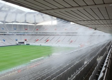 Cooling Fog Systems Coming to Sports Stadiums Nationwide