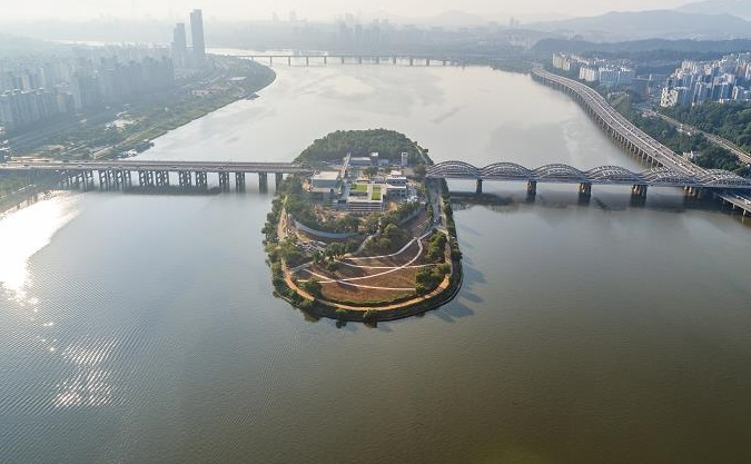 Nodeul Island on the Han River. (image: Seoul City Hall)