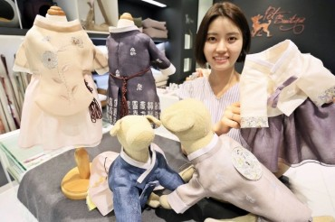 Demand for Custom Pet Hanbok Surges